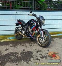 Modifikasi evolusi Yamaha Scorpio tahun 2012 asal Kota Madiun (11)