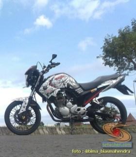 Modifikasi evolusi Yamaha Scorpio tahun 2012 asal Kota Madiun (14)