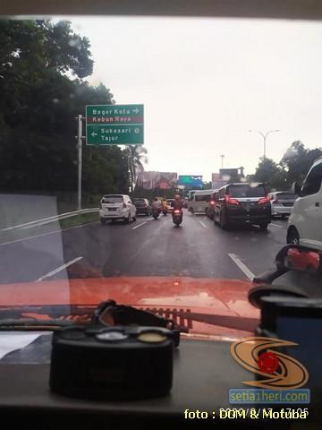 Pengalaman turing motuba Toyota Corolla DX lintas provinsi, ternyata lumayan irit gans. (3)