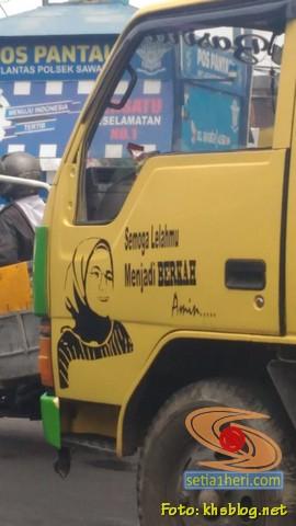 Doa istri sopir truk Semoga lelahmu menjadi berkah. Amiin (1)
