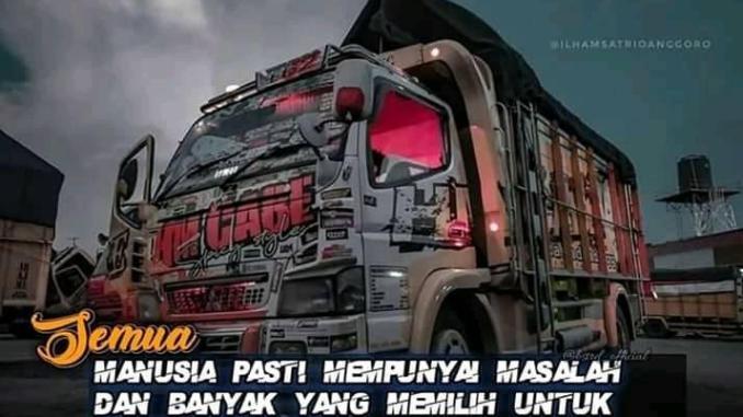 Fakta-fakta sopir truk cabe, selalu high speed (3)