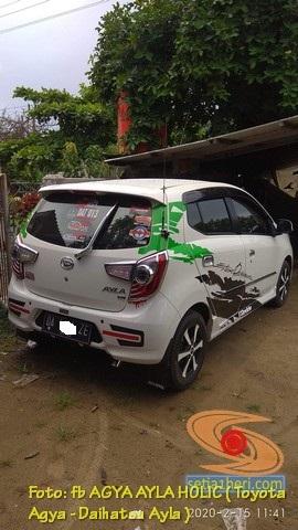 Kumpulan foto modifikasi cutting sticker mobil Agya dan Ayla tahun 2020 (9)