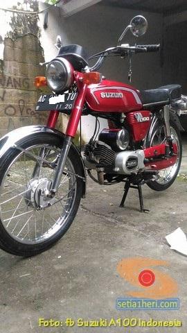 Kumpulan foto motor jadul Suzuki A100 (19)