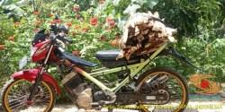 Kumpulan gambar Suzuki Satria Fu buat boncengan barang gans.. (6)