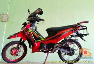 Kumpulan modifikasi konsep touring Honda Supra X 125 (1)