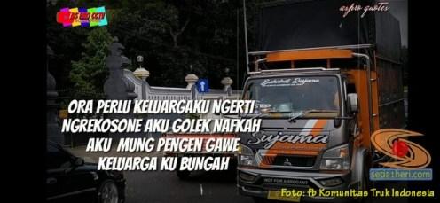 Kata-kata mutiara seorang sopir atau driver Indonesia (12)