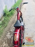 Custom Bike basis Kawasaki Binter Merzy 200 asal Kediri (4)