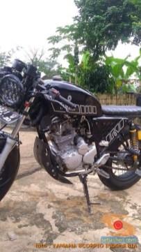 Kumpulan foto modifikasi Yamaha Scorpio menjadi scrambler atau japstyle (8)
