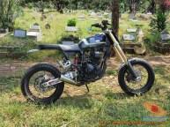 Kumpulan gambar modifikasi Yamaha Scorpio menjadi scrambler atau japstyle (10)