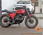 Kumpulan gambar modifikasi Yamaha Scorpio menjadi scrambler atau japstyle (6)