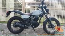 Kumpulan modifikasi Yamaha Scorpio menjadi scrambler atau japstyle (1)
