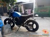 Kumpulan modifikasi Yamaha Scorpio menjadi scrambler atau japstyle (7)