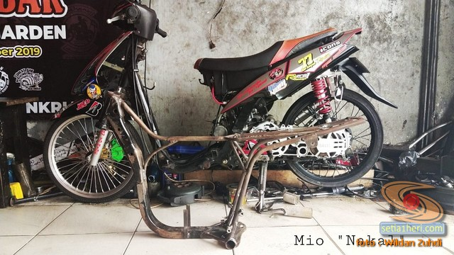 Mio Nakal, tips bikin Yamaha Mio irit dan kencaaanggg...oleh bro Wildan Zuhdi
