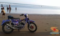 Modifikasi Yamaha RX King berubah jadi motor bebek retro klasik atau swap engine (11)