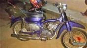 Modifikasi Yamaha RX King berubah jadi motor bebek retro klasik atau swap engine (17)