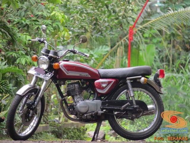 Obrolan tentang motor lawas Honda CG 125