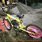 modif trail basic sepeda BMX