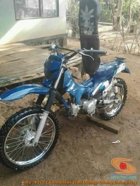 Honda C70 modif trail odong-odong alias bebek trail GTX (31)