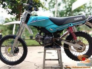 Modif Honda Win jadi Trail bore up asal Ciamis, Jawa Barat (12)