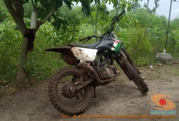 Modifikasi trail GTX bebek basis mesin Yamaha Vega tahun 2020 (10)
