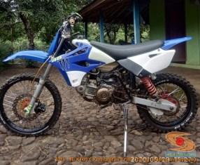 Modifikasi trail GTX bebek basis mesin Yamaha Vega tahun 2020 (11)
