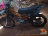 Modifikasi trail GTX bebek basis mesin Yamaha Vega tahun 2020 (21)