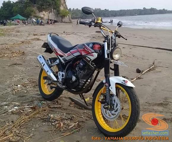 Spatbor depan alternatif Yamaha Scorpio yang PNP (3)