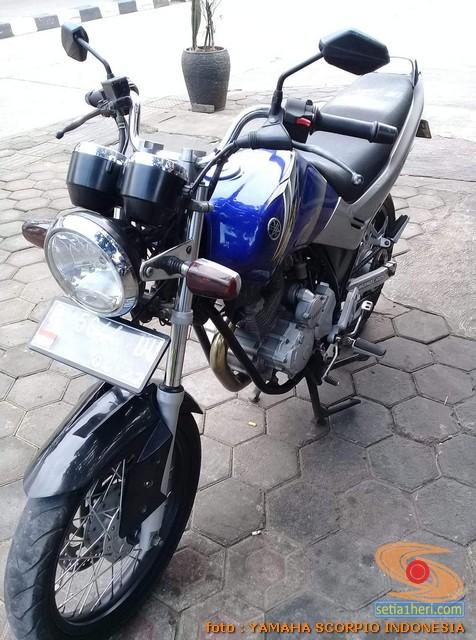 Spatbor depan alternatif Yamaha Scorpio yang PNP (5)