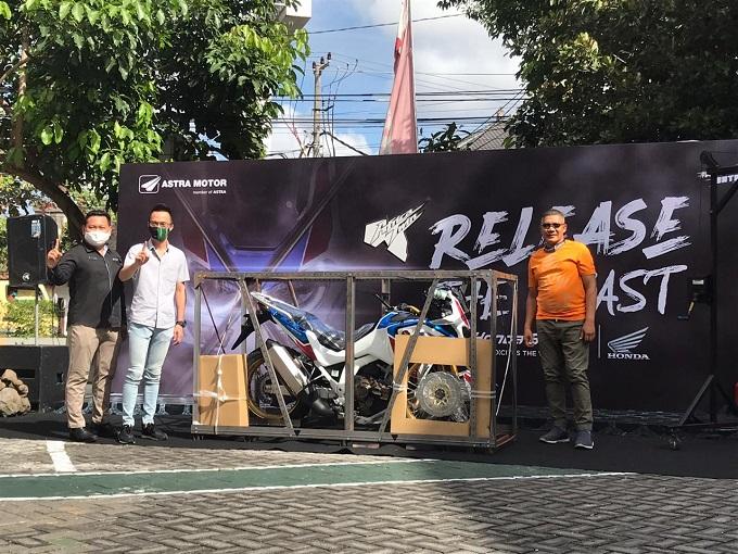 Astra Motor Bali luncurkan Honda CRF1100L Africa Twin Adventure Sport tahun 2020