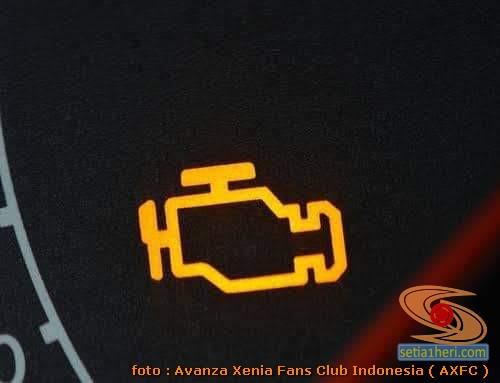 Sensor Engine pada Toyota Avanza nyala, bagaimana solusinya?