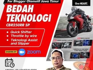 Bedah teknologi Honda CBR250RR SP Quick Shifter bersama MPM Honda Jawa Timur (1)