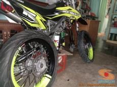 Cara repaint velg sepeda motor dengan baik dan benar bagi pemula.. (2)