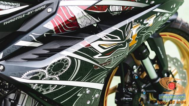 Harga Honda CBR250RR SP Quick Shifter Special Edition Garuda x Samurai