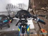 Modifikasi suzuki satria fu pakai stabilizer atau steering dumper brosis (7)