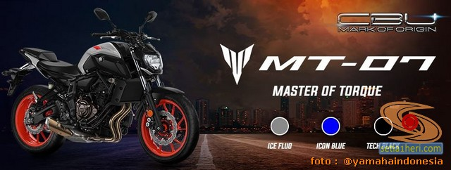 Moge CBU Yamaha MT-07 Tahun 2020