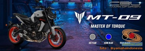 Moge CBU Yamaha MT-09 Tahun 2020