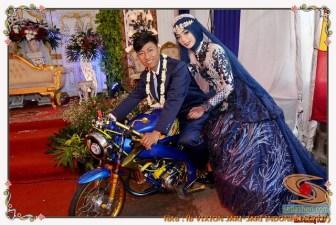 Motor-motor vijar yang jadi saksi di pelaminan dan pernikahan (14)