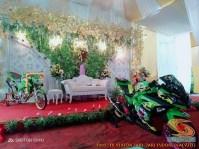 Motor-motor vijar yang jadi saksi di pelaminan dan pernikahan (20)