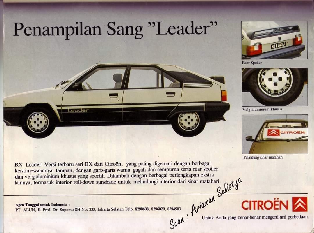 iklan mobil citroen tahun 1986