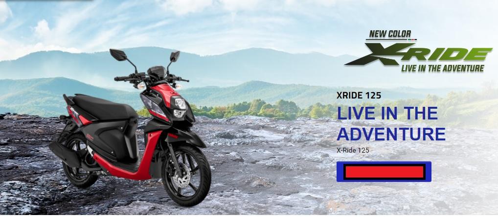 3 Pilihan Warna Baru Yamaha X-Ride 125 tahun 2020