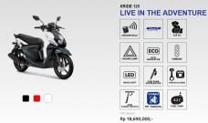 Fitur Yamaha X-Ride 125 tahun 2020