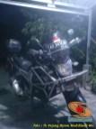Ragam bentuk engine guard atau frame tubular pada Yamaha Byson (5)