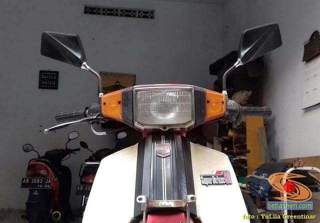 Menengok motor lawas Yamaha Robot Super Deluxe V80