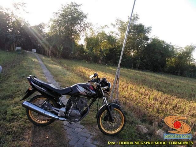 Spatbor atau spakbor depan alternatif Honda Megapro yang PNP (5)