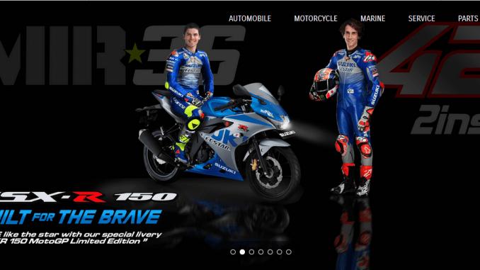 suzuki gsx r150 livery moto gp tahun 2020