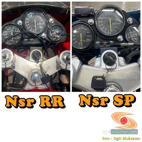 Dilego motor lawas Honda NSR RR Astra tahun 2000 dan Honda NSR 150 SP tahun 1996 (4)