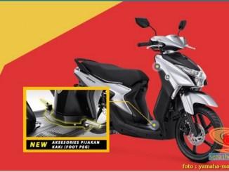 Spesifikasi, harga dan pilihan warna Yamaha Gear 125 tahun 2020 (3)