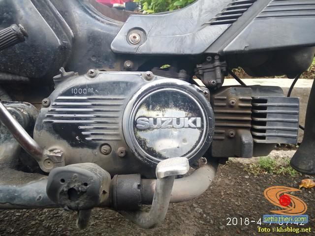 Ketemu motor lawas Suzuki RC 100 Sprinter tahun 1990 brosis (3)
