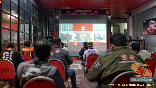 MPM honda jawa timur dalam Honda Bikers Day 2020 (1)