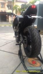 Modifikasi Yamaha Byson gaharr poll asal Surabaya tahun 2020 (1)